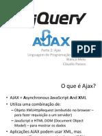 Utilizando Ajax com JQuery