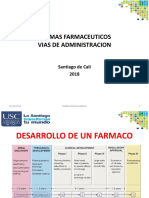 2 FARMACOLOGIA USC FORMAS FARMACEUTICAS Y VIAS 2018.pptx