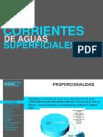Corrientes de Agua Superficiales