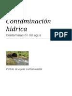 Contaminación Hídrica - Wikipedia, La Enciclopedia Libre