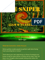 The Sniper Powerpoint Presentation
