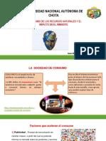 Tema 4. El Consumo de Los Recursos Naturales y El Imapcto en El Ambiente