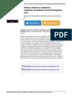 Familismo Direitos e Cidadania Contradies Da Poltica Social Portuguese Edition by Regina Clia Tamaso Mioto Marta Silva Campos Cssia Maria Carloto b014wwsdvy