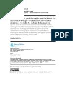 Aspectos sociales en el desarrollo sustentable de los sistemas de trabajo
