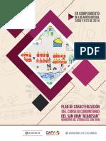 Plan de Caracterizacion Consejo Comunitario San Juan -Acadesan