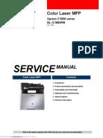 Samsung SLC 1860FW service manual