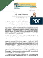 Entrevista a Raúl Fornet-Betancourt