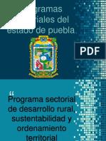 Programas sectoriales