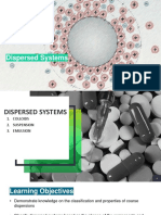 LEC 6 Dispersed Systems