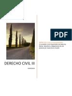 Derecho civil SUCESIONES