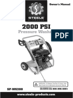 Steele SP WG200 Manual