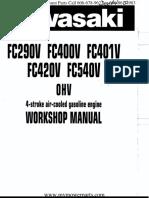 Fc290v Fc400v Fc401v Fc420v Fc540v Kawasaki Service Repair Manual