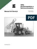 580L Manual Serviço Portugues