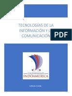 Tecnologías de La Información y La Comunicación.- Carlos Cuzme