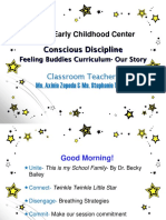 Star Conference Feeling Buddies- Our Journey