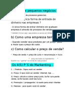 Documento gestao de pequenos negocios.rtf