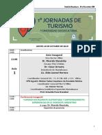 Programa General i Jornadas de Turismo y Diversidad Sociocultural