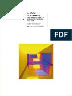La idea del espacio en la Arquitectura y el Arte Contemporáneo.