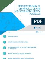 Propuestas de Politica ADIMRA 2019