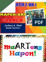 MAPEH-ART 6-Q2-WK 1(JOVY FILART) (1)
