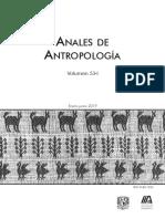 Anales de Antropología 53-1 (2019)