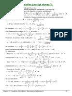 Equation differentielle