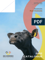 Sire Catalogue 2019-20 - Holstein Red Holstein GGI-SPERMEX GmbH