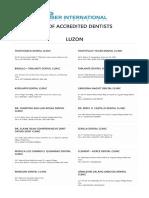 Kaiser List of Dentists