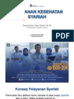 Pelayanan Kesehatan Syariah