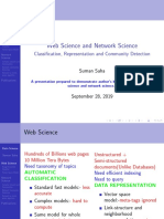 Web science and network science