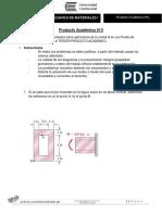Producto académico N°3 Mecanica de Materiales - Luis Bravo Suacedo