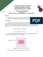 Lab. 2 (Cálculo de Presión. Uso de Un Manómetro en U)