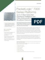 Procera DS PacketLogic7000 Platform