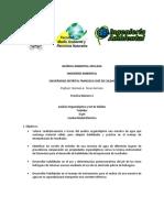 Practica de Laboratorio 2 Química Ambiental Aplicada 2019-3