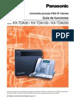 Panasonic KX-TDA30_100_200 - Guia de Funciones