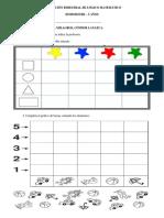 Evaluación Bimestral de l.m 5 Años 3ra Unidad