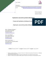 Explotación comercial de la hidroponia