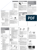 Startup Guide Epson603387eu