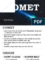 Comet and Asteroid 1