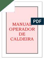 Manual Operador Caldeira