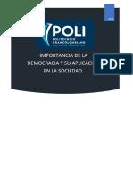 Ensayo, Democracia (1)