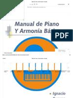 Manual de Piano y Armonia Basica - Completo