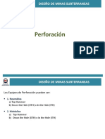 UG . Clase 3 - Perforación Subterranea (1)
