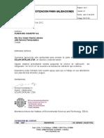 Cotizacion Calificacion de Equipos Se-ft-02