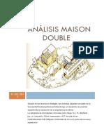 Analisis Maison Double