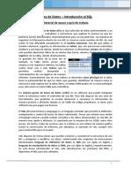 Base de Datos - Material de Apoyo - Tema SQL