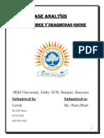 Mohori bibee vs Damordas ghosh