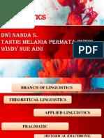 Branch of linguistics
