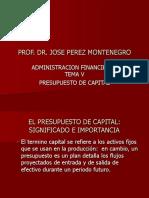 ADMINISTRACION FINANCIERA I TEMA V.ppt