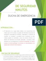 Charla de Seguridad - Ducha de Emergencia